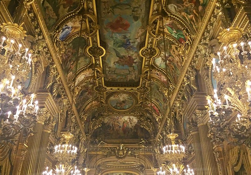 He's Here! The Phantom of the Opera! (The Opera Garnier)