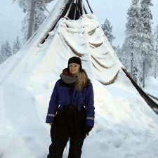 Finland- Winter Tee pee