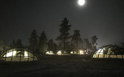 The Accommodations at Kakslauttanen Arctic Resort