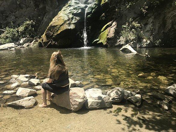 sturtevant_falls_trail_waterfall_cabins_woods_hike_los_angeles_California_usa_malories_adventures_malorie_mackey