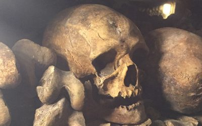 """Stop! This is the Empire of the Dead.""- The Catacombs of Paris"