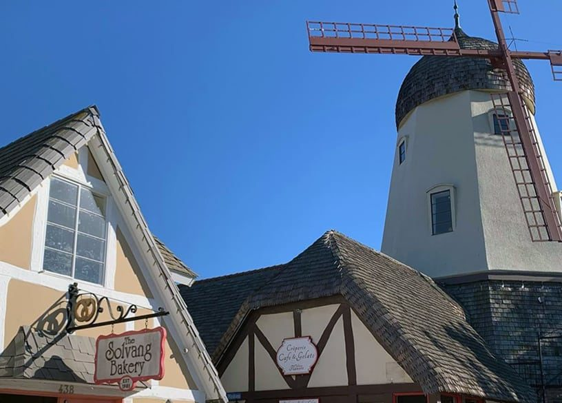 Solvang, a Cute Danish Village in Wine Country