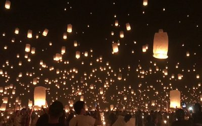 Rise Lantern Festival Lights Up the Mojave Desert Once a Year